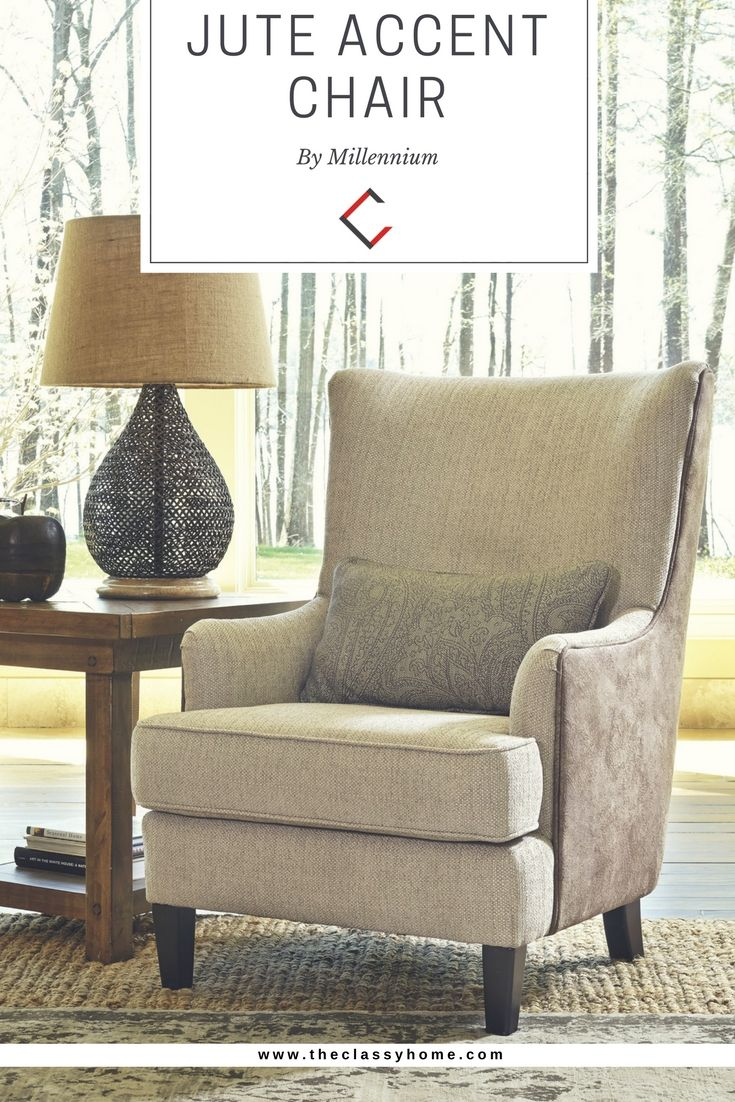 Ashley Furniture Baxley Jute Accent Chair Furniture Accent