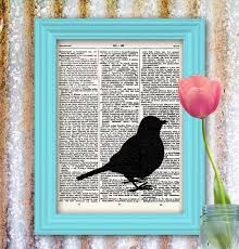 Image result for dictionary page + silhouette picture frame