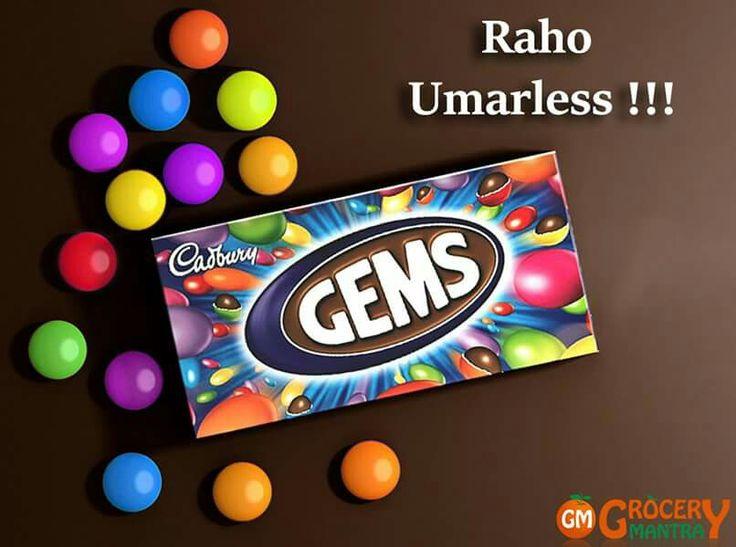 Cadbury Gems !!! Grab It For Fun #CadburyGems Only At Grocery Mantra http://www.grocerymantra.com/gems.html #OnlineSuperMarket #OnlineGroceryShopping #TingTing #JaiHind #SaveWater
