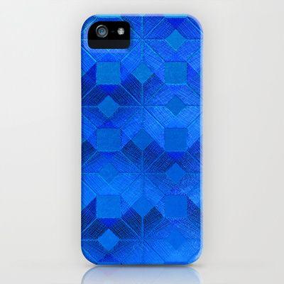 Twilight iPhone & iPod Case by Gréta Thórsdóttir - $35.00  #scandinavian #snowflake #pattern #blue #cobalt #ombre #nightfall #nordic