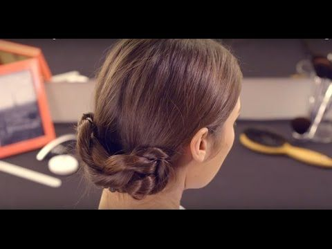 TUTORIAL - Chignon basso intrecciato con Twist Secret - YouTube