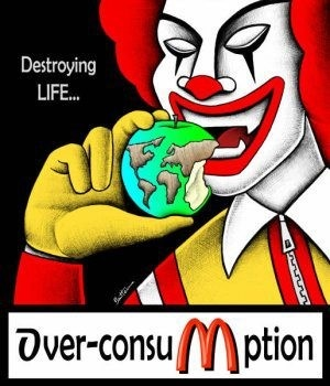 MCDONALD'S = DESTROYING LIFE