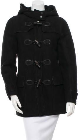 Gucci Suede Shearling Coat w/ Tags