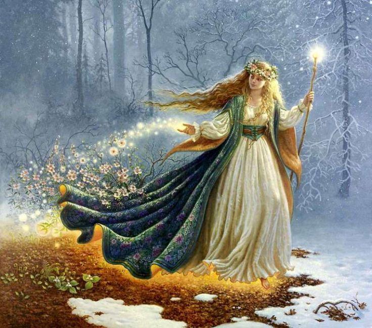 ДИВИЯ – богиня светлой ночи, богиня Луны, знак Дивии тоже напоминает луну. Считается, что Дивия, Богиня Луны, для того сотворена …