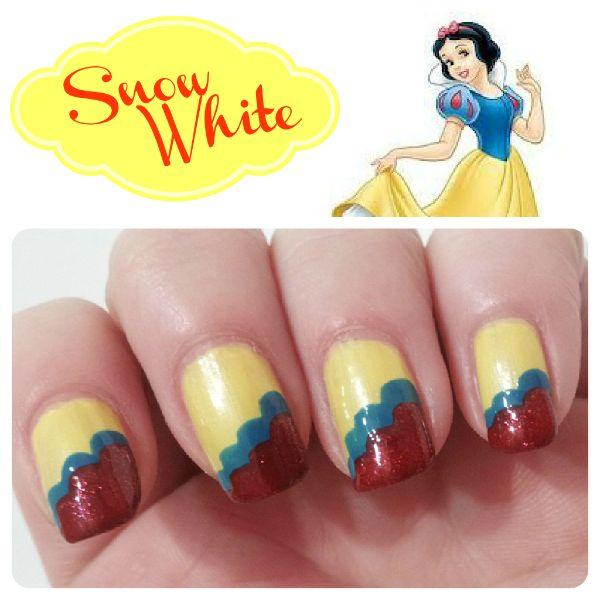 Princess Themed Nails: 1000+ Images About Disney Princess