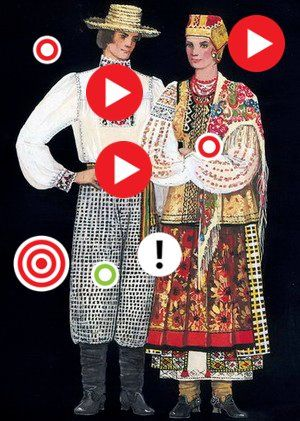 """Одежда украинцев в старину, авт. Люба Милосердова, команда """"Наукоград 42"""""""