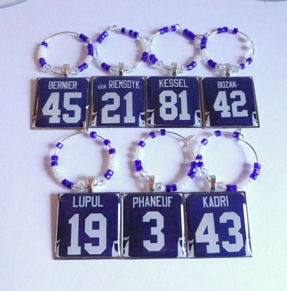 Toronto Maple Leafs Wine Charms