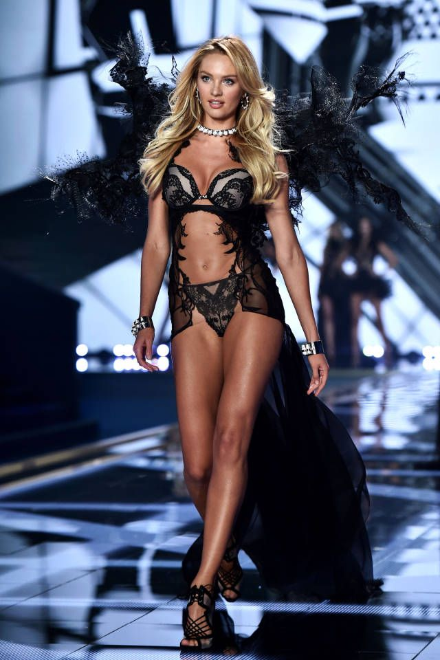 All the best looks from today's Victoria's Secret Fashion Show: Candice Swanepoel