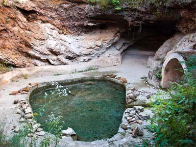 treatment baths from Roman times at Geoagiu