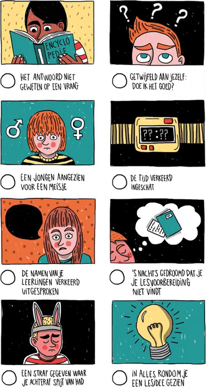 Flaters van leerkrachten - checklist :-)