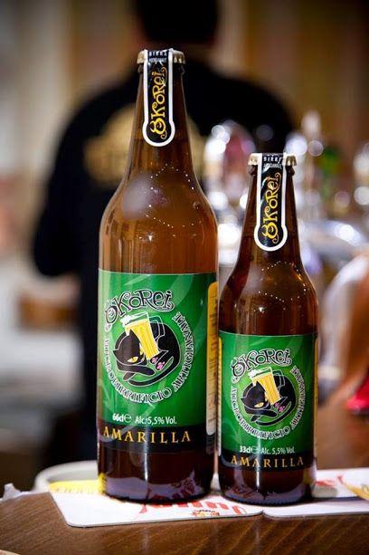 Amarilla è una IPA dal colore giallo paglierino e un impatto al gusto dolce, seguito dalle note agrumate e erbacee date dai luppoli, che preludono un carattere amaro.   La trovate su Excantia nella bottiglia da 66 cl: http://www.excantia.com/birra/india-pale-ale-ipa-okorei-66cl  ... e in quella più piccola, da 33 cl.: http://www.excantia.com/birra/india-pale-ale-ipa-okorei-33cl