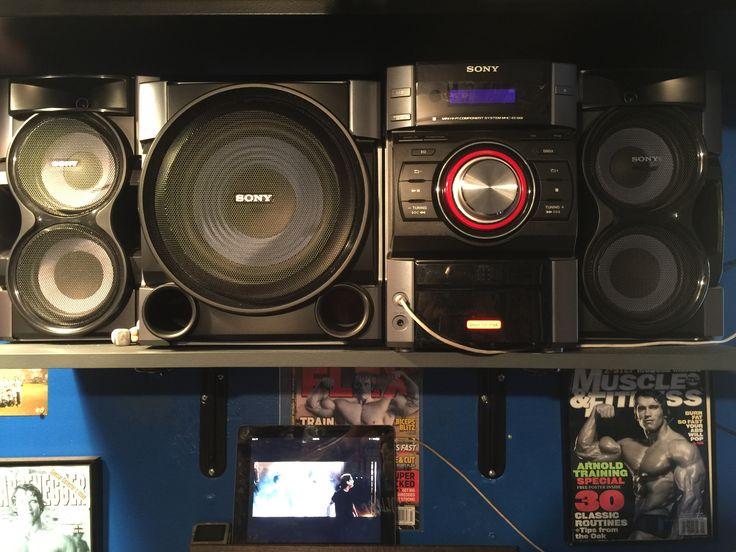 Beautiful Gym Audio System