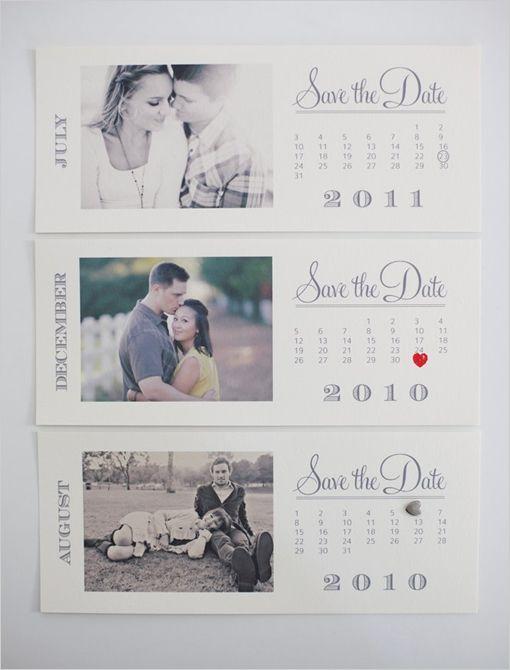 FREE printable save the dates