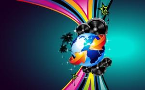 Around the World HD Wallpaper
