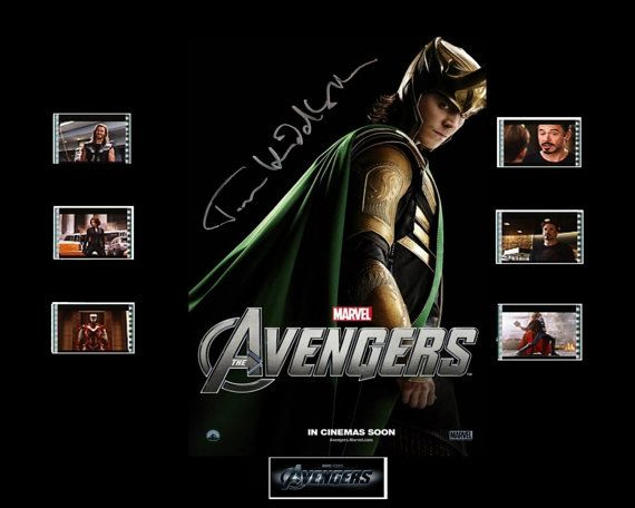 Avengers Film Cell Presentation : Loki by Everythingbutthatcom