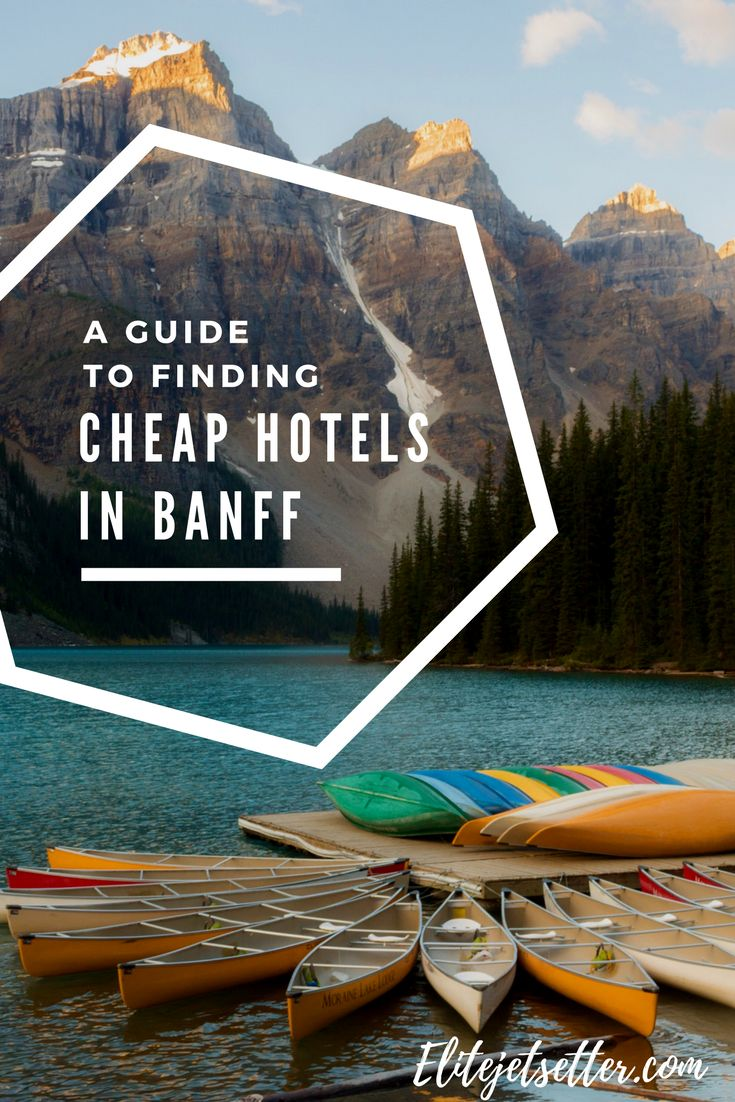 A guide to the best cheap accommodation in Banff. Hotels in Banff. Places to stay in Banff on a budget.