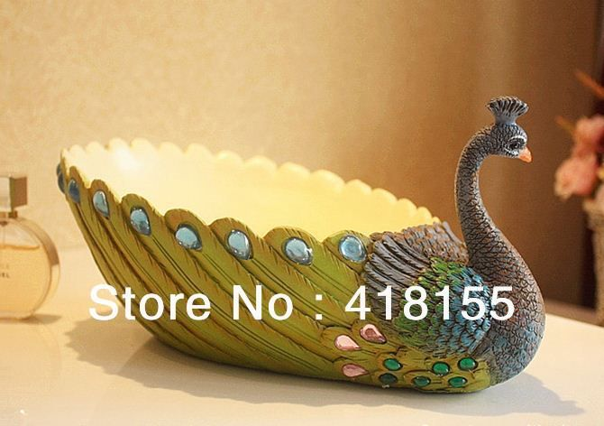 Craft Wedding Gifts: Peacock Fruit Plate Sri Lanka Style Crafts / Wedding Gifts
