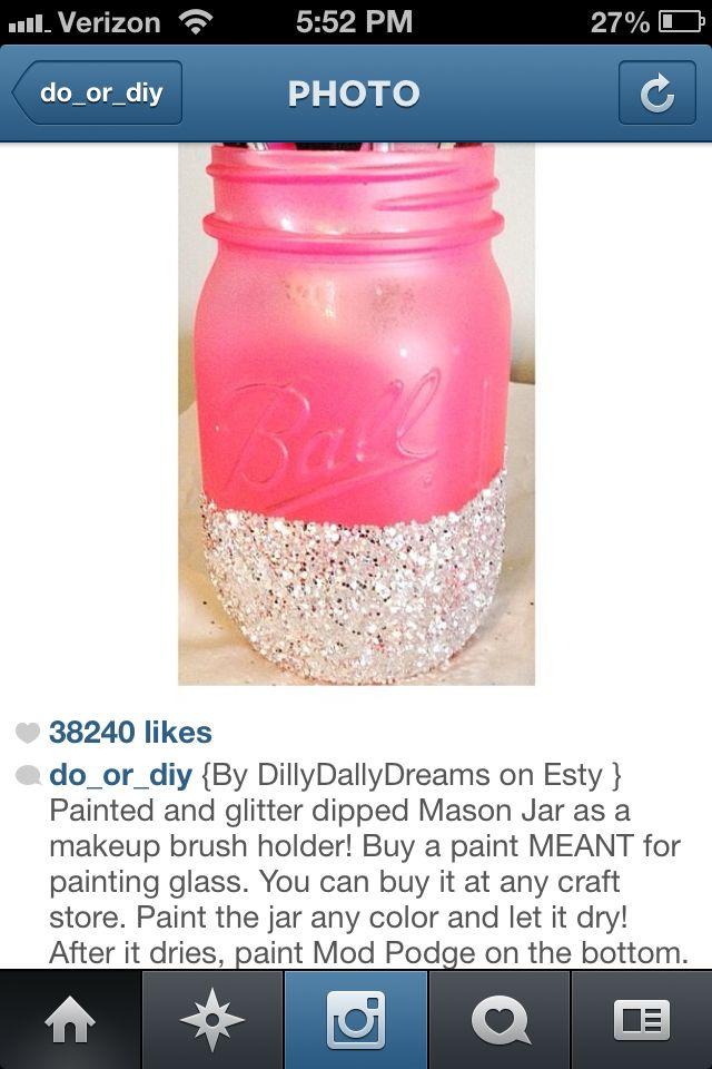 Mason jar DIY  Can we? @Kerry Bradley @Tina Krous