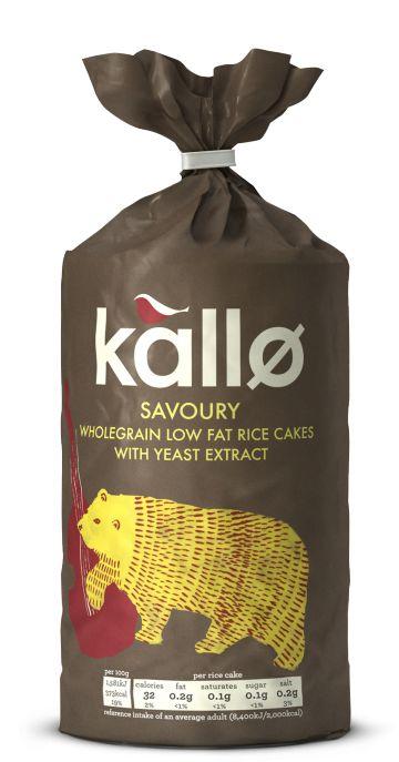 Snacks || Rice Cakes- Savoury w/ Yeast Extract