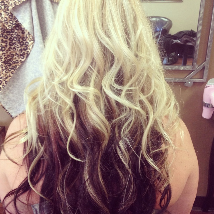 Reverse Ombre Curls | Short Hairstyle 2013