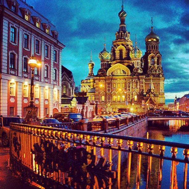 St. Petersburg Church in Russia
