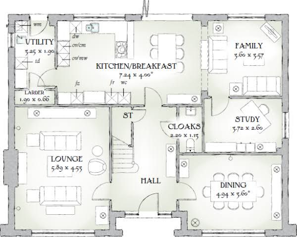 Redrow Homes The Highgrove Floorplan Google Penelusuran Inggris