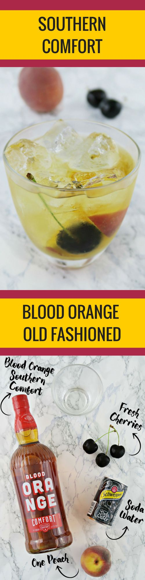 Southern Comfort Cocktail Recipe Ideas - Blood Orange Old Fashioned ...