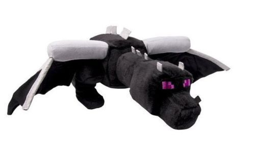 "Mojang Minecraft Ender Black Dragon Plush Toy Stuffed Doll Figure 24"" NEW #Mojang"