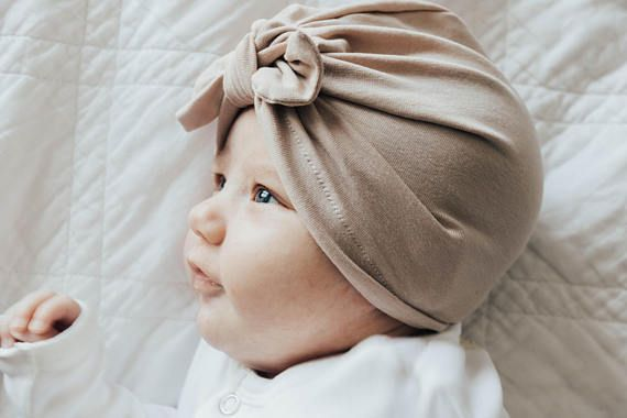 Adding accessories to my baby girl's outfits always take them to the next level. Our baby turban hats are great for girl's winter fashion statements. They're sweet, feminine & handmade.
