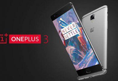 Sale a la venta en España el OnePlus 3 por 399€