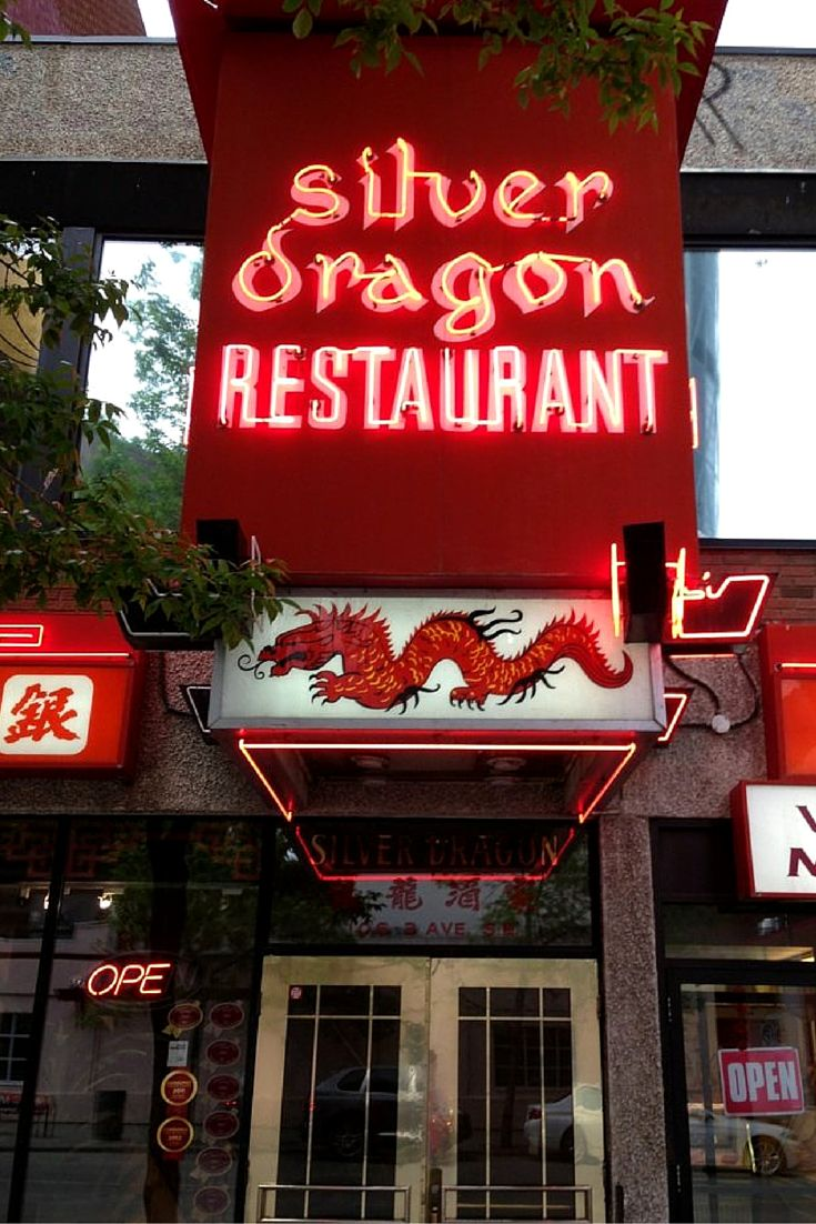 The Silver Dragon has served authentic Cantonese and Szechuan cuisine to Calgarians for more than 44 years. Located in the heart of Chinatown, the Silver Dragon's Honk Kong-trained chefs prepare over 200 dishes. Order off of the menu or stop a dim sum trolley at your table.