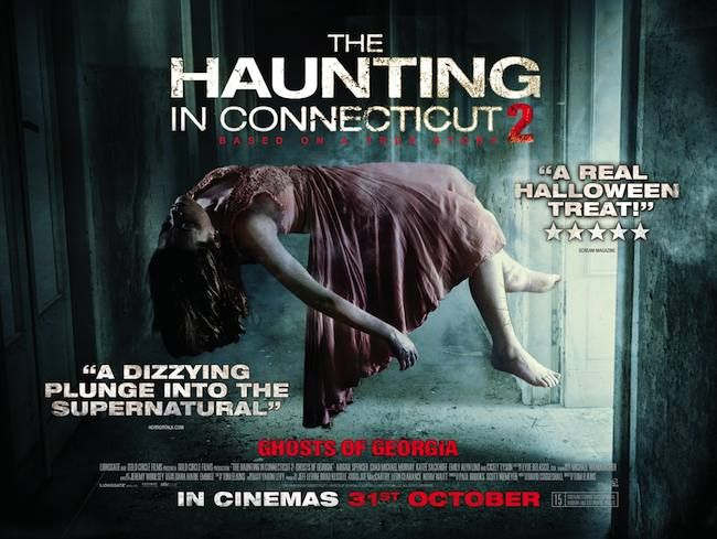 COMPETITION! WIN a Horror DVD Bundle to celebrate the release of 'The Haunting In Connecticut 2' on DVD! *NOW CLOSED*