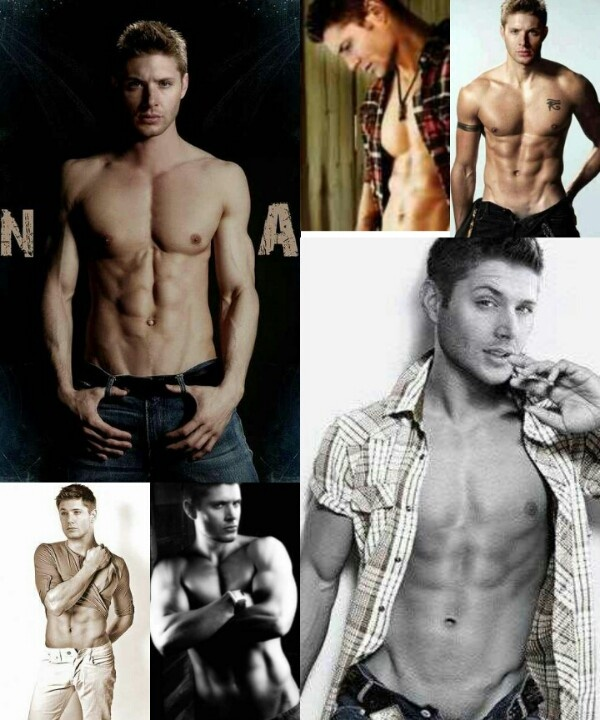 I was bored and found these hot pics of Jensen Ackles so I put them together... This is how it turned out!