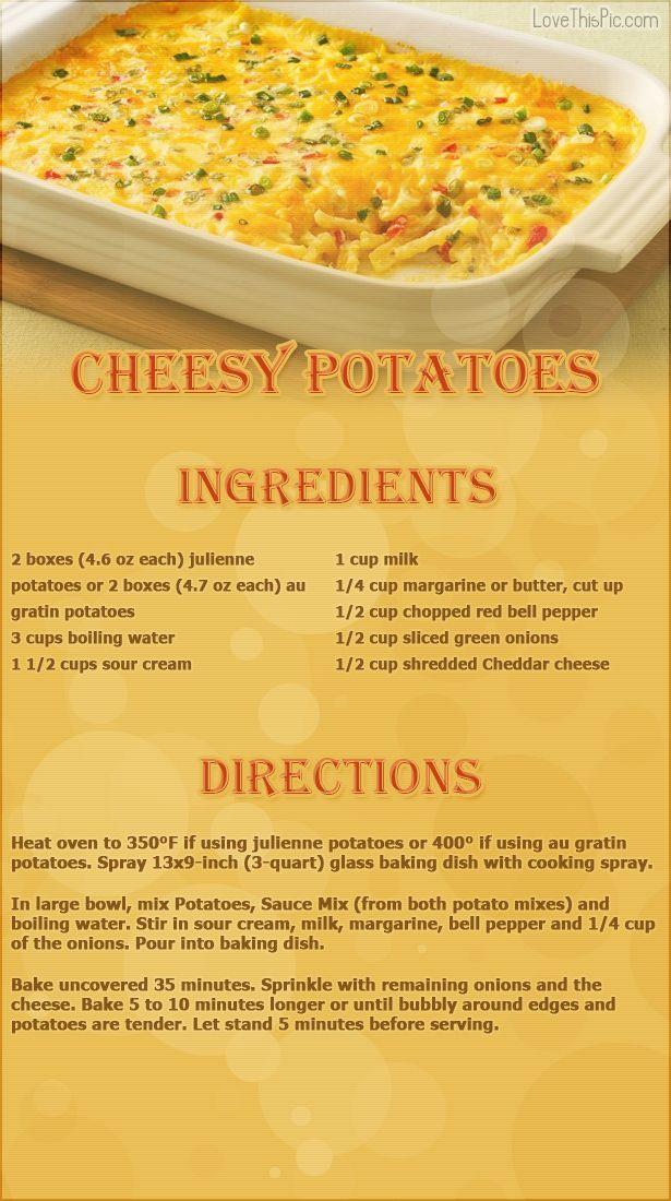 Cheesy Potatoes thanksgiving recipes thanksgiving recipes recipes easy recipes ingredients instructions baking recipe ideas dinner recipes.
