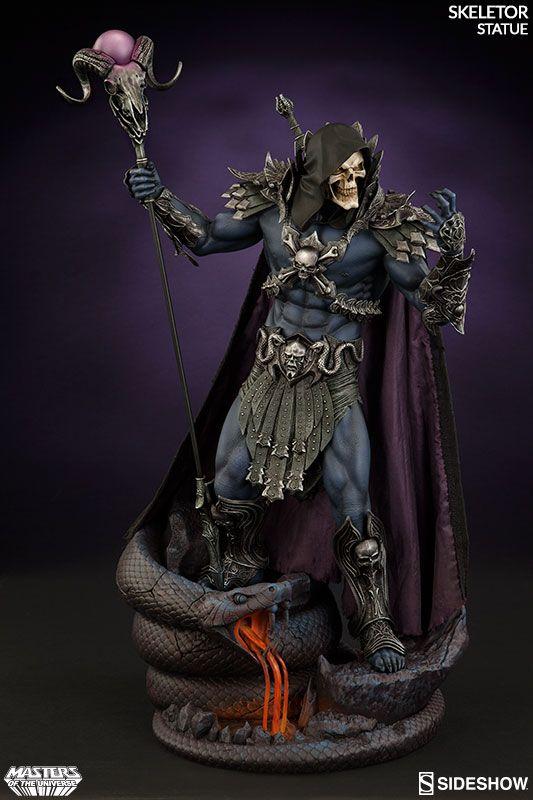 Masters of the Universe Skeletor New Statue, by Sideshow. Nova estátua do Esqueleto, feito pela Sideshow.