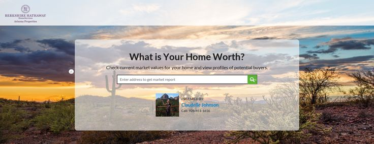 Thinking about selling your home? FREE Home Value Estimator by Claudelle Johnson