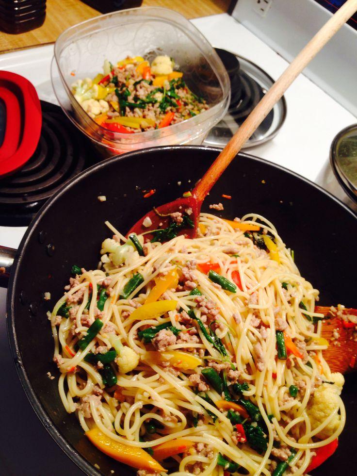 Spaghetti Pat Kee Mao