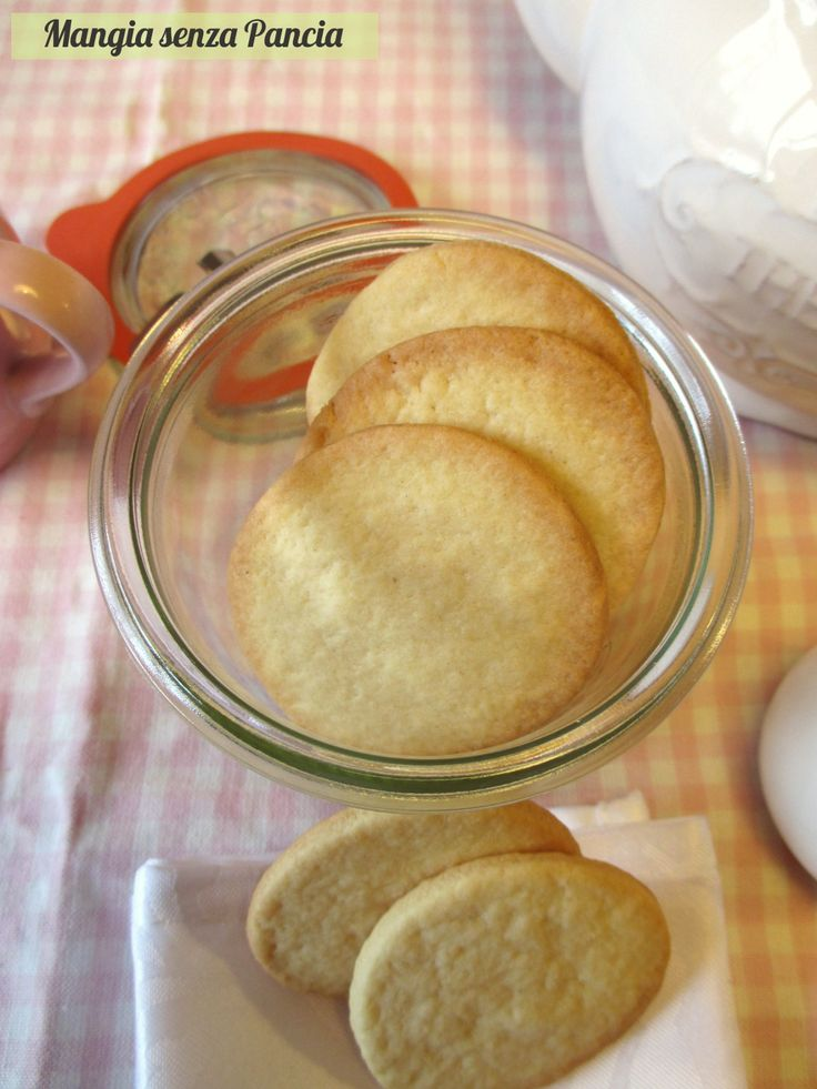 Biscotti semplici leggeri senza uova, Mangia senza Pancia