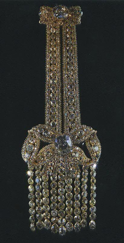 Imperial Russia diamond pendant