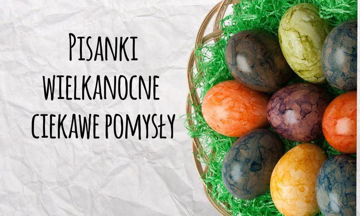 Pisanki Wielkanocne - Ciekawe Pomysły #wielkanoc #swieta #dekoracje #diy #zrobtosam #pisanki #jajka