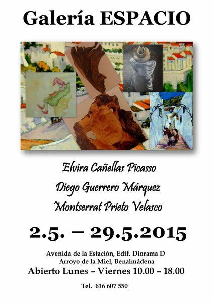 Exposición colectiva en Galería Espacio