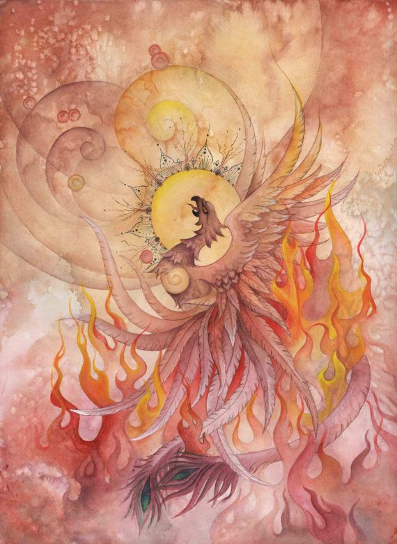 Hey, I found this really awesome Etsy listing at http://www.etsy.com/listing/115602848/phoenix-rising-archival-giclee-print