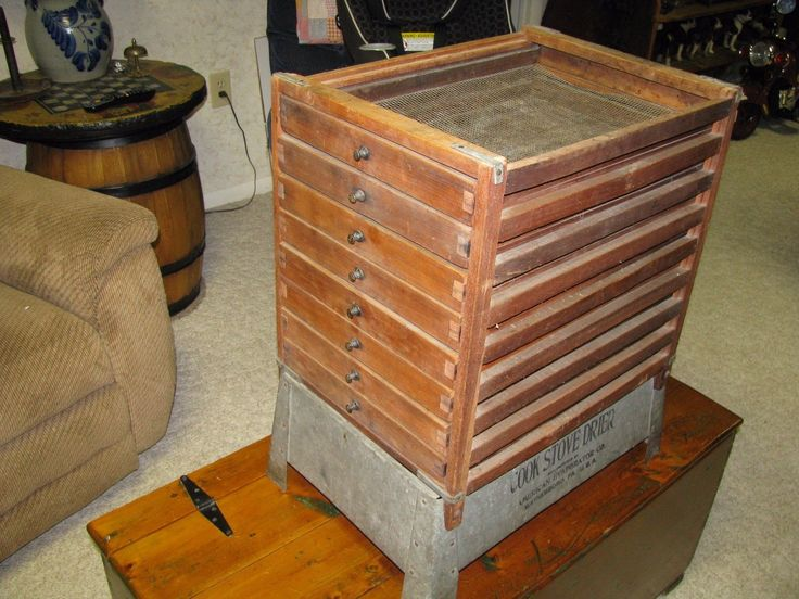 ANTIQUE COOK STOVE FRUIT DRYER / DEHYDRATOR / 8 Drawers | eBay