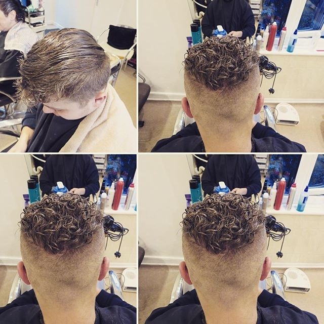 Mens Perm Curly Hair Styles Curly Hair Men Boys With