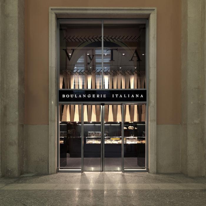 Vyta boulangerie italiana colli daniela architetto interiordesign bakery