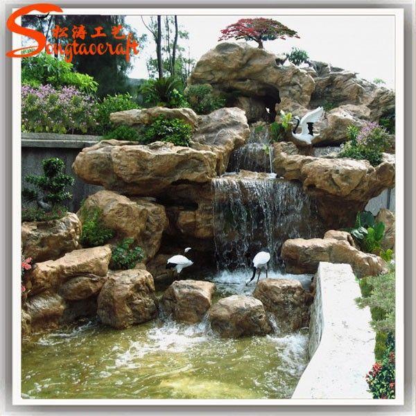 M s de 25 ideas incre bles sobre cascadas artificiales en for Cascadas de jardin artificiales