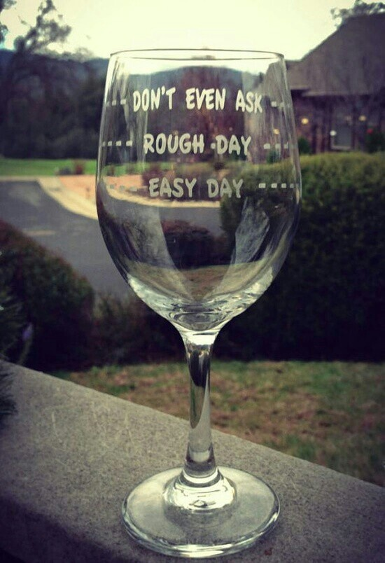 May need this glass after baby
