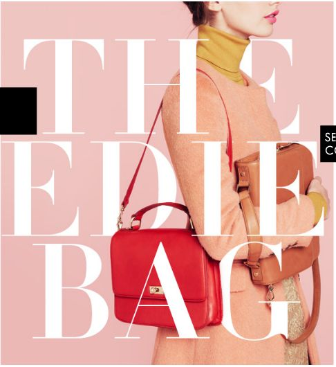Great color palette and font, J. Crew