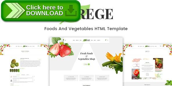 [ThemeForest]Free nulled download Frege - Foods And Vegetables HTML Template from http://zippyfile.download/f.php?id=12973 Tags: bakery, bar, coffee, cook, cooking, creative, dinner, drink, food, menu, recipes, restaurant, seafood, shop, sushi