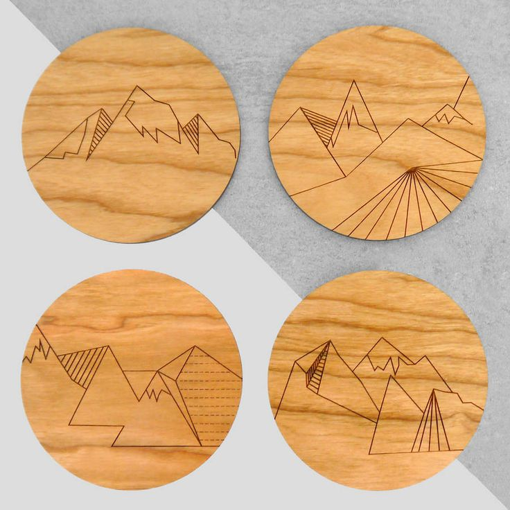 crafty ideas modern coasters. Set Of Four Geometric Mountain Range Coasters  Table CoastersWooden DiyModern CoastersProject IdeasCraft 16 best coaster images on Pinterest Wooden coasters Drink